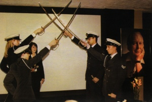 scientology honour guard children